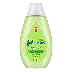 Shampoo JOHNSON'S Baby Cabelos Claros 200ml