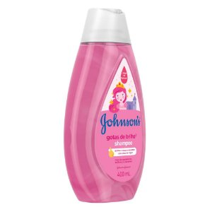 Shampoo JOHNSON'S Baby Gotas de Brilho 400ml