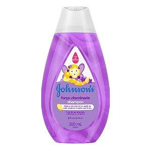 Shampoo JOHNSON'S Força Vitaminada 200 ml