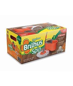 Brilhus Mop + Balde Spin Plástico BETTANIN