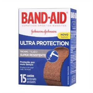 Curativos BAND AID Ultra Protection 15 unidades