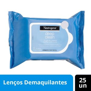 Demaquilante NEUTROGENA DEEP CLEAN 25 unidades