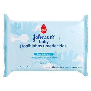 Lenços Umedecidos JOHNSON'S Baby Hora de Brincar 25 unidades