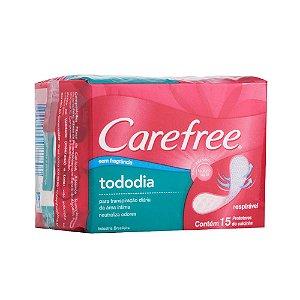 Protetor Diário CAREFREE Todo Dia sem Perfume 15 unidades