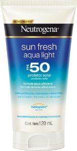 Neutrogena Sun Fresh Aqua Light FPS 50 120ml