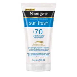 Protetor Solar NEUTROGENA Sun Fresh FPS 70 120ml