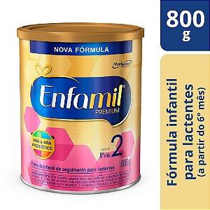Fórmula Infantil Enfamil Premium 2 - 800g