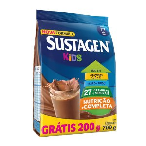 Sustagen Kids Chocolate Sachê Leve 700Gr Pague 500Gr