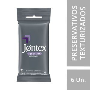 Preservativo JONTEX  Lubrificado Sensation 6 unidades