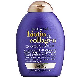 Condicionador OGX Biotin & Collagen 385ml