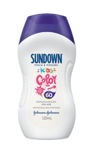 Protetor Solar SUNDOWN Kids Color FPS 60 120ml