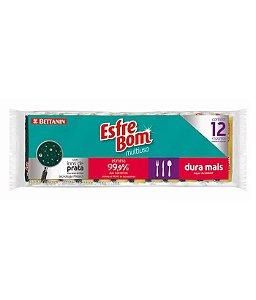 Esfrebom Esponja Multic.com 12 Abrasiva