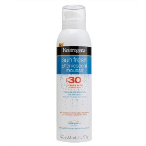 Protetor Solar NEUTROGENA Sun Fresh Mousse Efervescente FPS 30 200ml