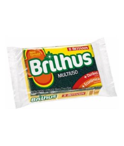 Brilhus Esponja Multi Pack com 10