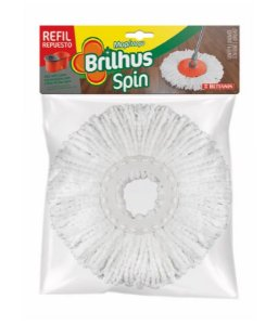 Brilhus Balde Spin Refil Cordões