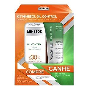 Promopack Neostrata Minesol Oil Control Serum FPS30 Grátis Cleanser 60g