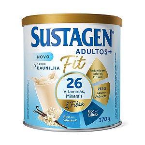 Sustagen Fit Complemento Alimentar Baunilha 370g