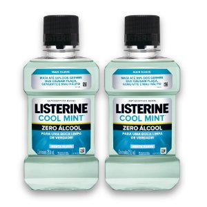 Kit com 2 Antissépticos Bucal LISTERINE ZERO 250ml