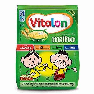 Mingau Vitalon Turma da Mônica Milho sachê 200g