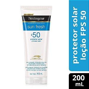 Protetor Solar NEUTROGENA Sun Fresh FPS 50 200ml