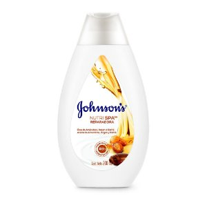 Hidratante Nutri Spa Reparadora JOHNSON'S Óleo de Amendoas, Argan e Karité 200ml
