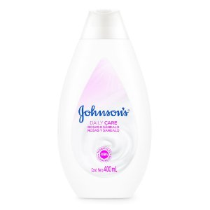 Hidratante Daily Care JOHNSON'S Rosas e Sandalo 400ml