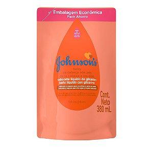 Sabonete Líquido de Glicerina JOHNSON'S Baby Da Cabeça aos Pés Refil 380 ml