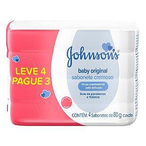 Kit promocional Sabonete em Barra JOHNSON'S Baby Original 80g Lv 4 Pg 3