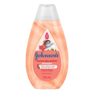 Kit c/ 4 Shampoo JOHNSON'S Baby Cachos Definidos 200ml