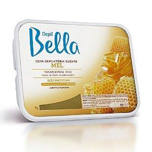 Cera Quente em Barra Depil Bella Mel Deo 1kg