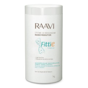 Creme Nano Redutor Fittie Raavi 1kg