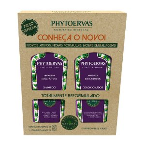 Phytoervas Antiqueda Shampoo + Condicionador 250ml