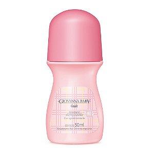 Leve 3 Pague 2 Desodorante Rollon Giovanna Baby Classic 50ml