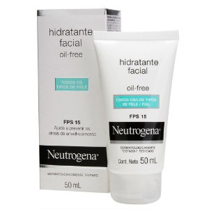 Gel Creme Hidratante Facial NEUTROGENA Oil Free FPS 15 50 ml