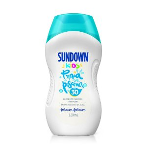Protetor Solar SUNDOWN Praia e Piscina Kids FPS 30 120ml