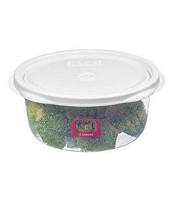 Kit c/ 6 Pote redondo Plástico Sanremo 1,3L