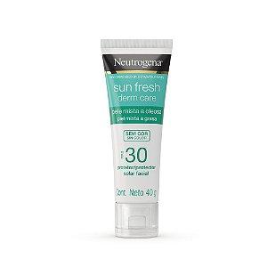 Neutrogena Sun Fresh Oily Skin Sem Cor FPS 30