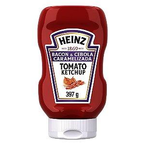 Ketchup Heinz Bacon e Cebola Caramel 397g