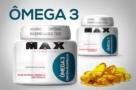 OMEGA 3 MAX TITANIUM - 90 CPS