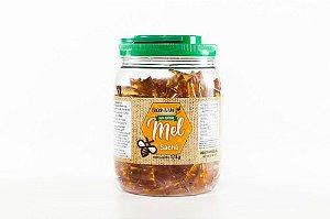Mel Saúde e Mel Sachê - Pote Com 1,1 Kg - 100% Natural