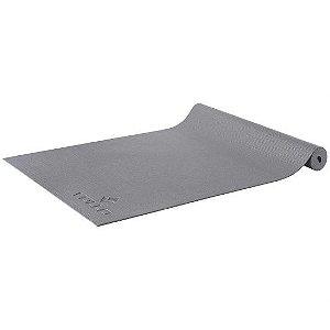 Colchonete para Yoga Cinza 4 mm com alça para transporte