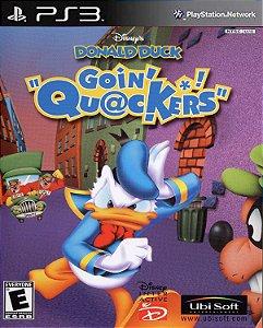 Donald duck Quack attack ps3 psn midia digital