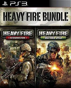 HEAVY FIRE BUNDLE PS3 PSN MÍDIA DIGITAL