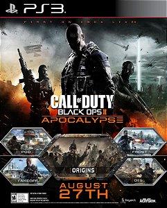 DLC apocalypse Call of duty black ops 2 - ps3 Mídia digital