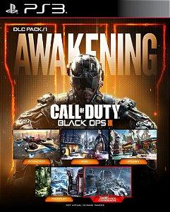 DLC Awakening Call of duty black ops 3- PS3 PSN Mídia digital( NÃO É JOGO)