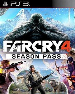 Far Cry 4 passe de temporada (DLC)  PS3 PSN Mídia digital