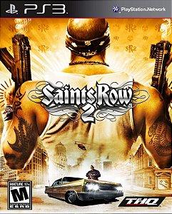 Saints Row 2- PS3 PSN mídia digital
