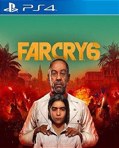 Far Cry 6 - PS4 E PS5 PSN Mídia digital ( Pré venda)