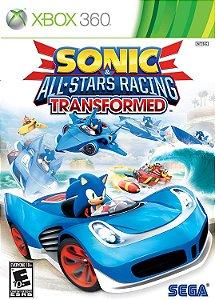 SONIC & ALL-STARS RACING TRANSFORMED XBOX 360 MÍDIA DIGITAL