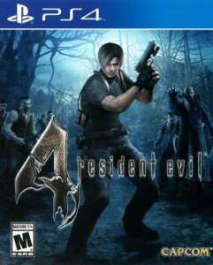 Resident Evil 4 PS4 PSN mídia digital